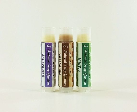 Check out this item in my Etsy shop https://www.etsy.com/ca/listing/262284666/3-lip-balm-set-natural-beeswax