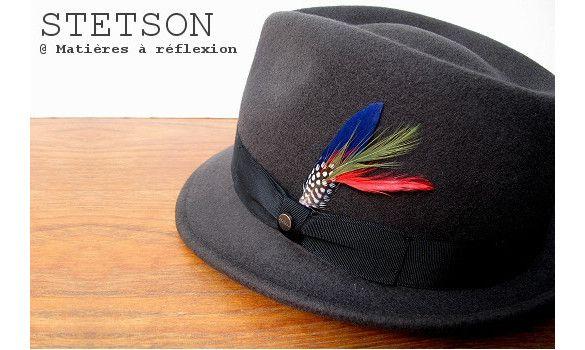 Stetson chapeau homme Richmond taupe #chapeauhomme #stetson #petitbord #menshat #mensfashion #modehomme #lookhomme #woolfelt #americanclassic