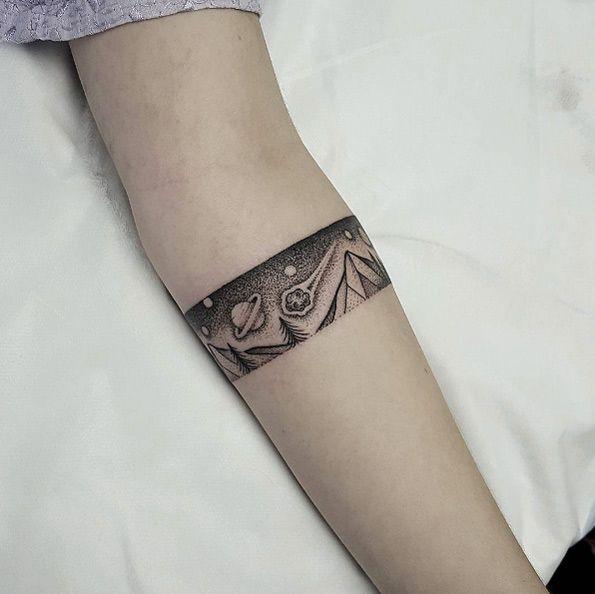 25 Best Ideas About Bracelet Tattoos On Pinterest: 25+ Best Ideas About Armband Tattoo On Pinterest
