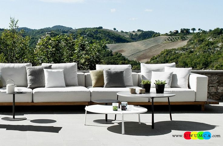 Outdoor / Gardening:Elegant And Beautiful Coffee Diy Outdoor Lounge Furniture Decor Ikea Chairs Elegant Sofa Cushion Pillows Cheap Table Chaise Lounge Design Double Chaise Lounge For Living Room Decorating Home Contemporary Flair Luxurious Decoration Collection From Paola Lenti Redefines Your Outdoor Lounge Decor