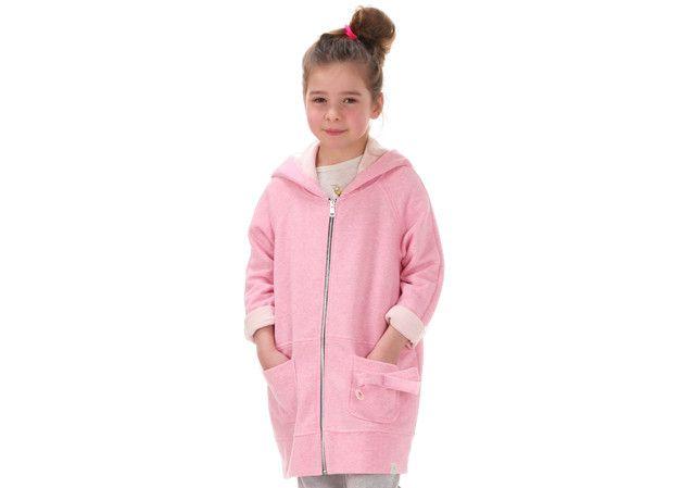Chaqueta infantil niña - Pink hoodie - hecho a mano en DaWanda.es