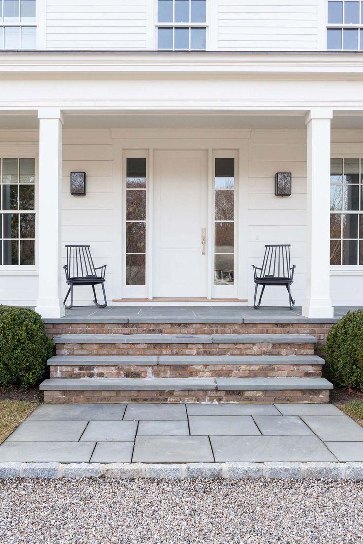Best A Modernized Version Of A New England Farmhouse In Connecticut New England Farmhouse Brick 640 x 480