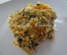 Receita Bacalhau com espinafres e batata palha gratinado com molho bechamel por Prato Caseiro - Categoria da receita Pratos principais Peixe