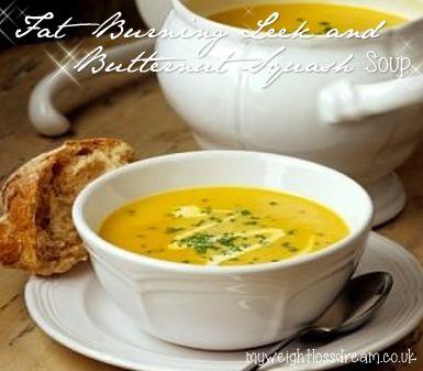 My Super Tasty Fat Burning Leek & Butternut Squash Soup. #fatburning #fatburningrecipes #leek&butternutsquashsoup
