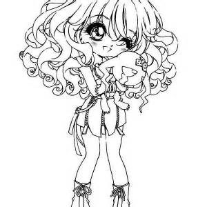 anime chibi boy coloring pages - photo#22