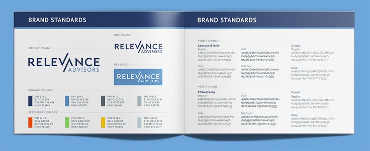 Relevance Advisors - Informational Booklet - Rhyme and Reason Design