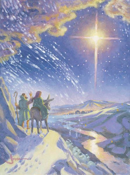 "Joni's ""Snow in Bethlehem"" painting"