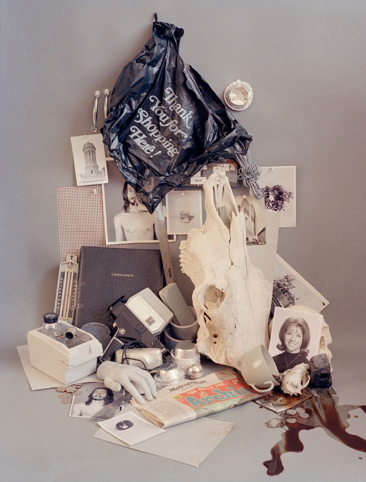 'accidental archives' by sara cwynar - still life