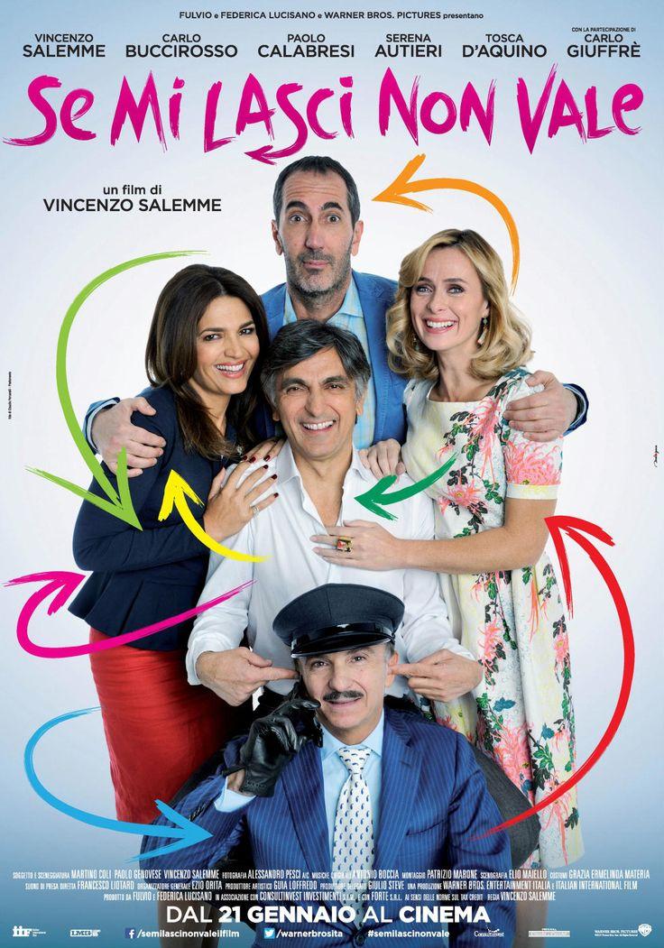 Se mi lasci non vale, il film di Vincenzo Salemme e Paolo Calabresi, dal 21 gennaio al cinema.