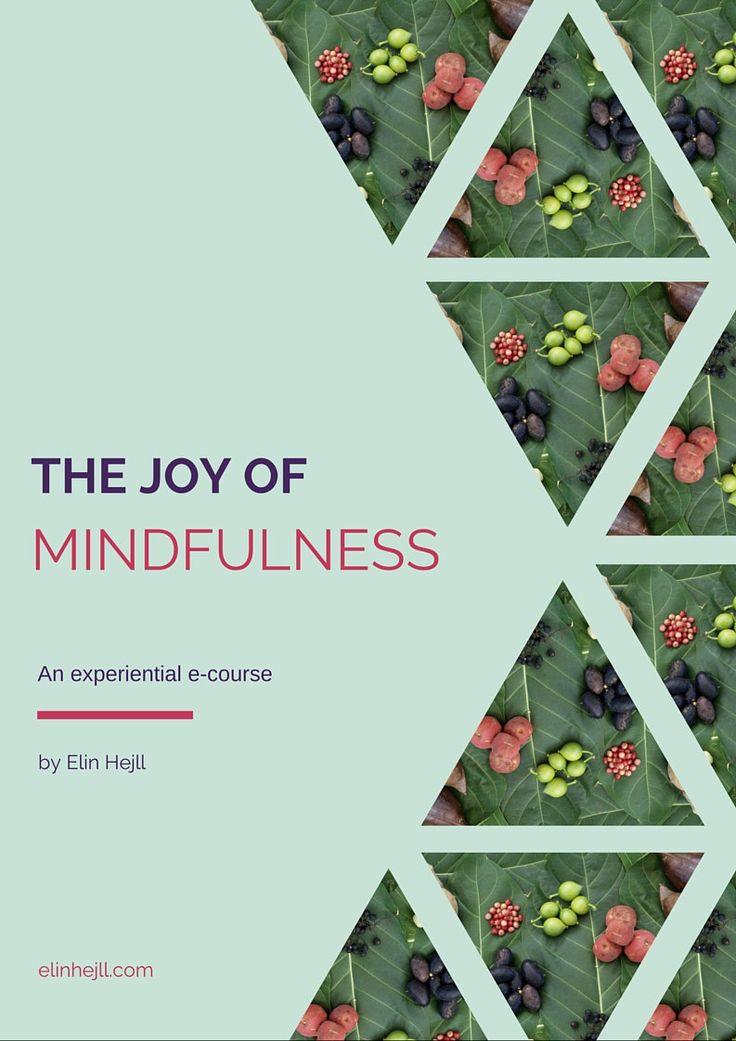 The JOY of mindfulness E-course by LadySparkleArt on Etsy