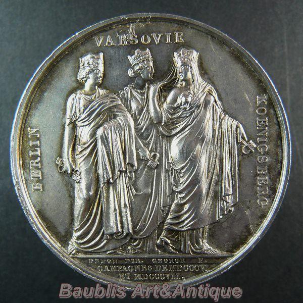 Medal Napoleon I -Campaigns of 1806 - 1807 - Berlin,Warsaw,Koenigsberg ie.picclick.com