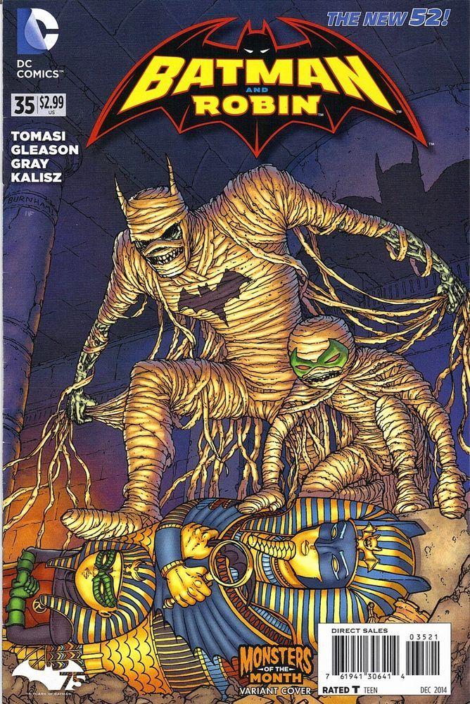 BATMAN ROBIN 35 MONSTER VARIANT COVER