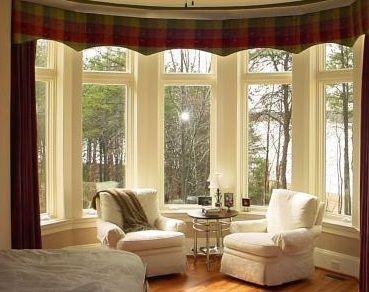 Beautiful bow window.