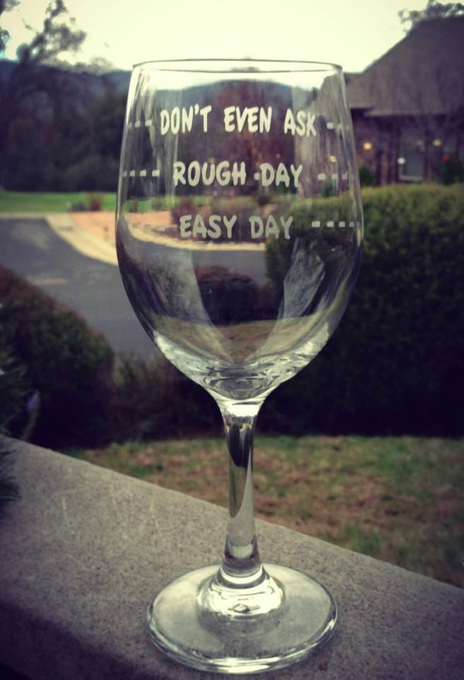 Need this wine glass!