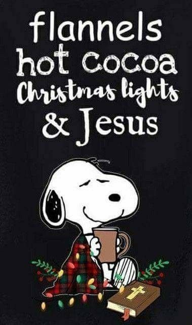 Jesus is always first, Snoopy, always first. :)