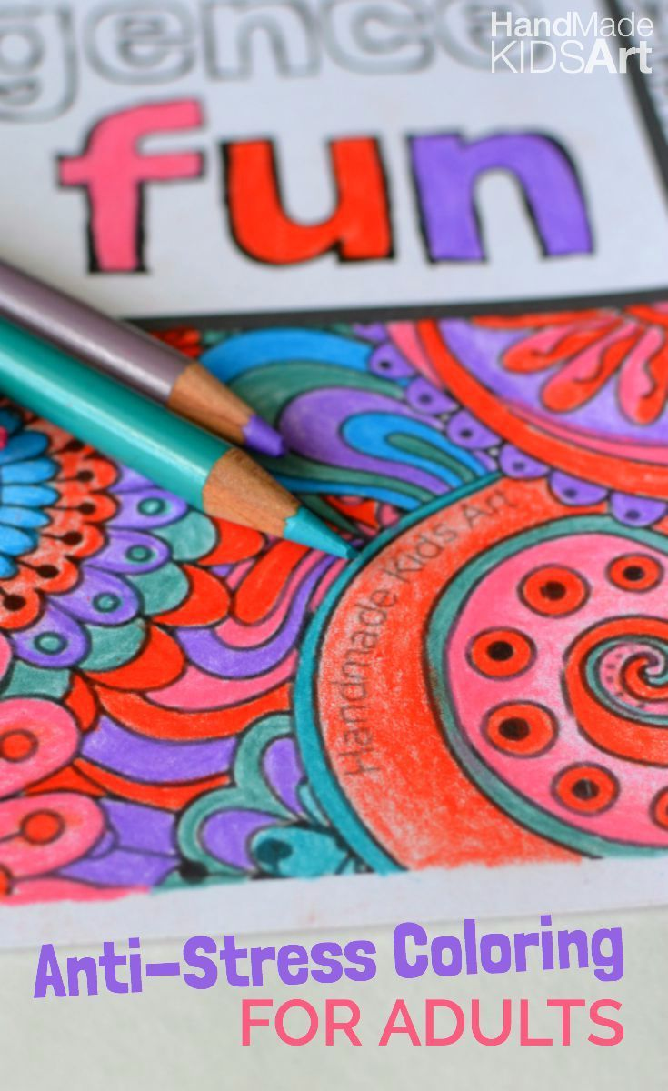 How to destress with printable coloring pages for adults creative