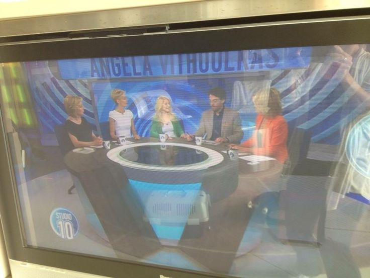 Angela Vithoulkas was the 5th Panellist on the Studio 10 show today with Ita Buttrose and co.    http://tenplay.com.au/channel-ten/studio-10