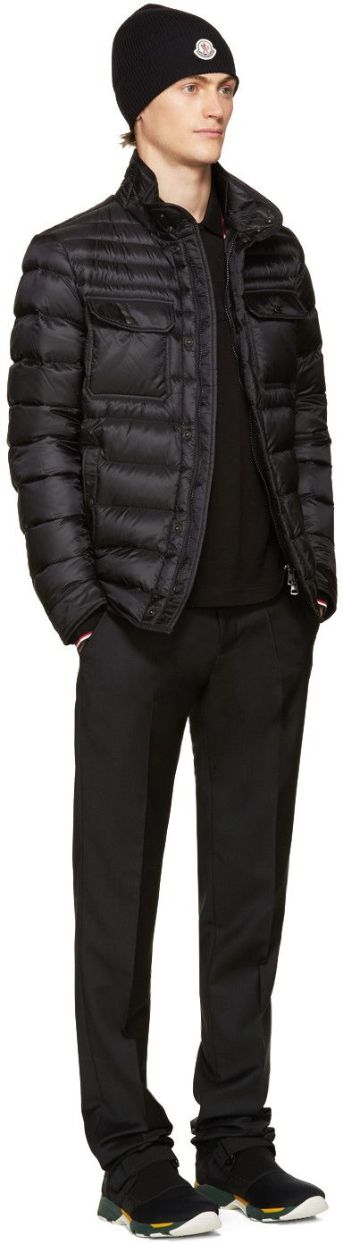 Moncler - Black Down Forbin Jacket