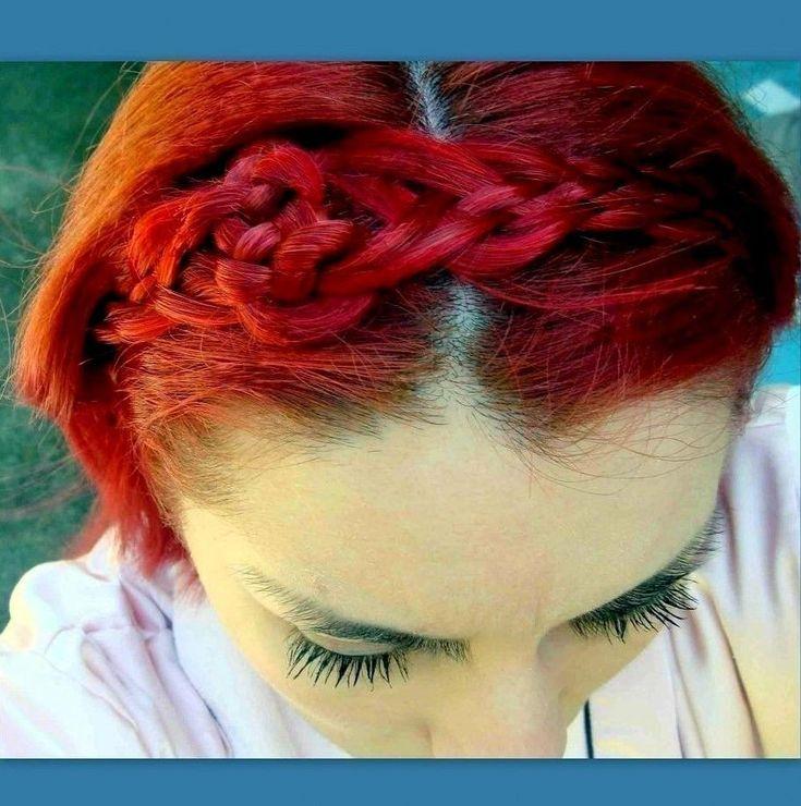 Sailor's Knot Braided Braid Plait Wig Headband handmade diadem custom colors #Handmade