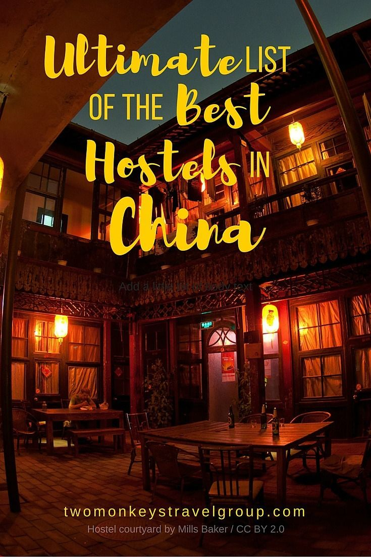 Ultimate List of the Best Hostels in China