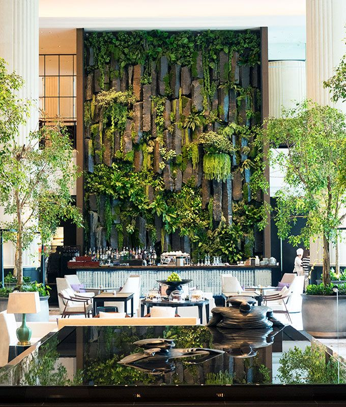 Shangri-La Hotel Singapore, a tranquil oasis in the heart of bustling Singapore.  A breath of fresh air, an escape after a hard day shopping or sightseeing.