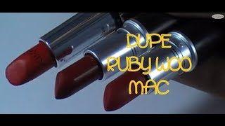 Dupe ruby woo MAC