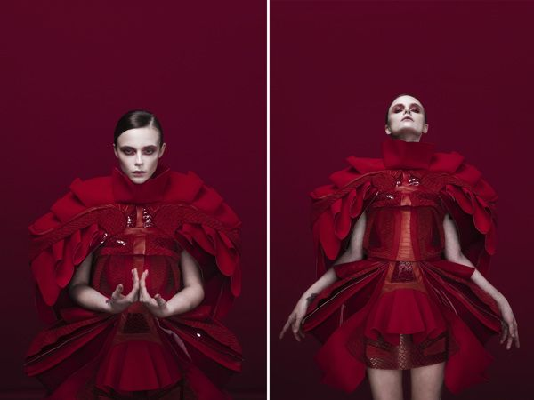 RED OBSESSION by Quentin Legallo, via Behance