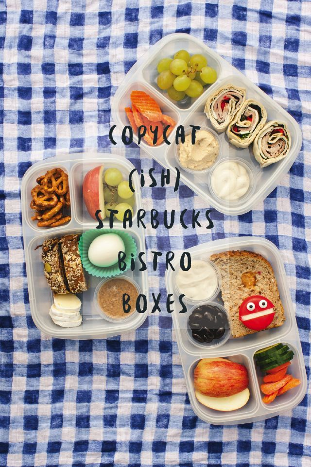 COPYCAT STARBUCKS BISTRO BOXES #easylunchboxes #copycat #starbucks #bistroboxes