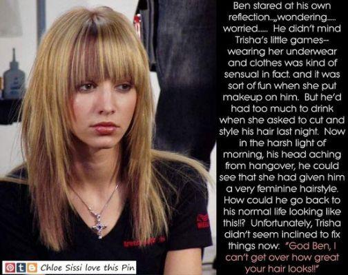 Forced Feminine Haircut Stories