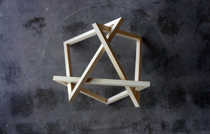 Tangle is a triangular-based coffee table created by Adelaide-based designer Liam Mugavin – an associate furniture designer at the Jam Factory.