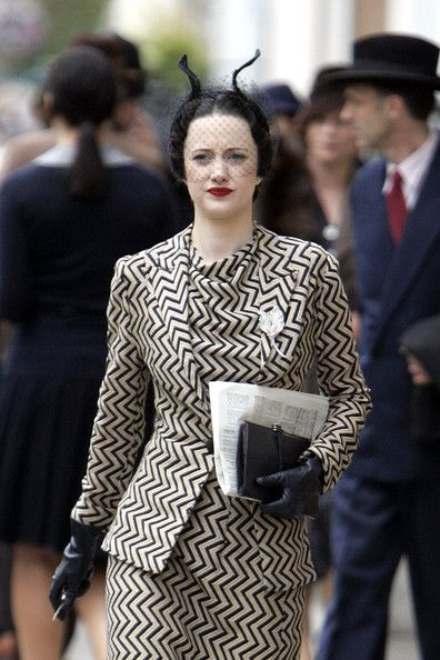 Obsessed with this outfit from W.E. and pretty much anything inspired by the beautiful Wallis Simpson.  Andrea Riseborough as Wallis Simpson in W.E. (2011).