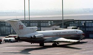 1977 ♦ November 19 – TAP Portugal Flight 425, a Boeing 727, overruns the runway at Madeira Airport and plunges over a steep bank, bursting into flames and killing 131 of the 164 people on board.
