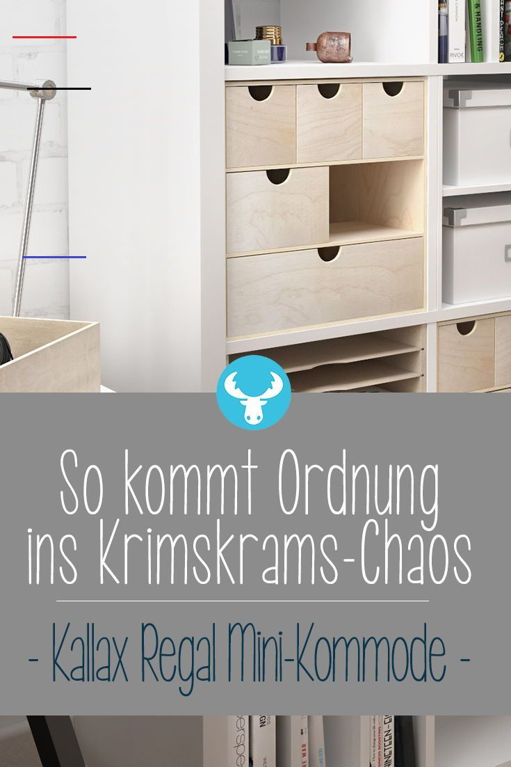 Schubladenkommode Fur Ikea Kallax Regal Ikeaideen Mini Kommo