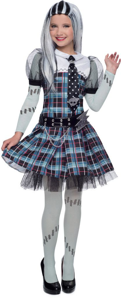 deluxe monster high frankie stein costume | large (10)
