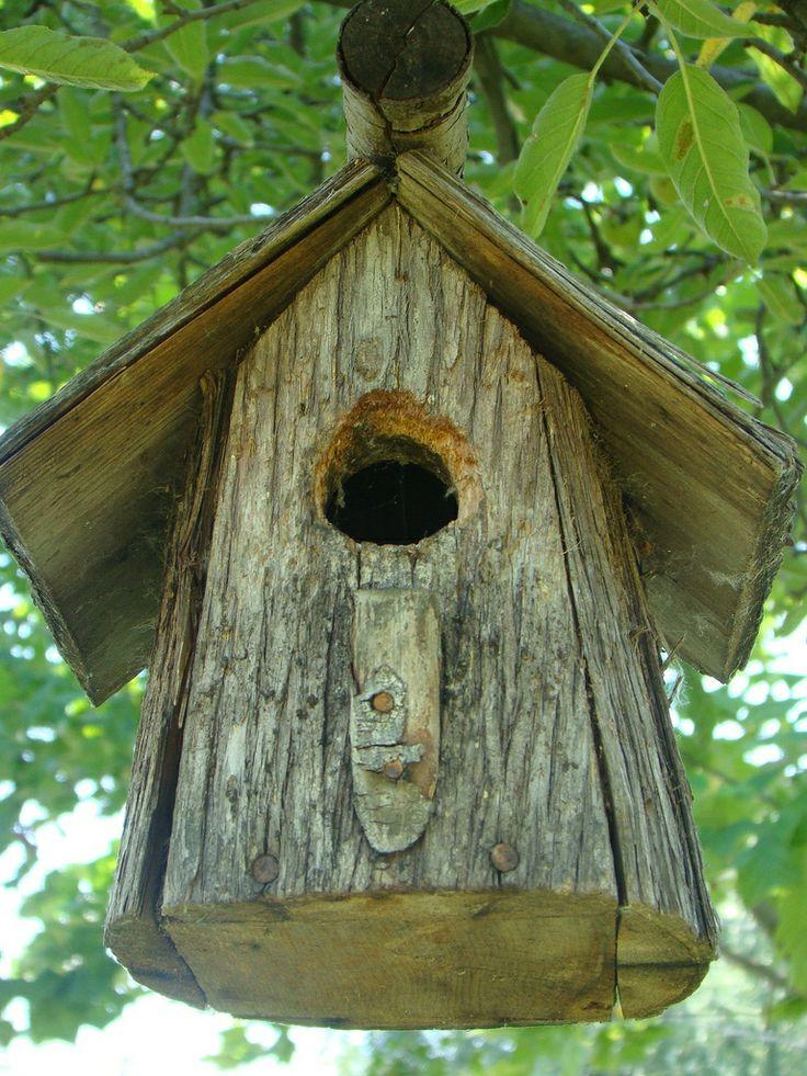 34 best homemade wood bird feeder images on Pinterest | Birdhouses, Bird houses and Wood bird