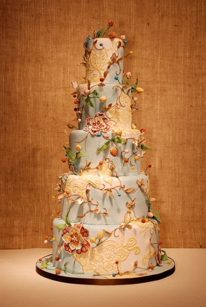 Just stunning. By Take the Cake in Chicago - this may be the most beautiful cake I've ever seen!