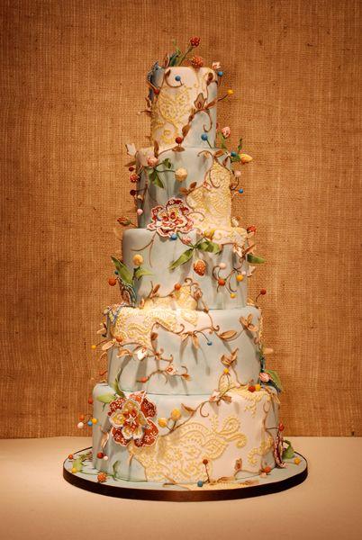 Elaborate Custom Wedding Cake From Cake In Chicago