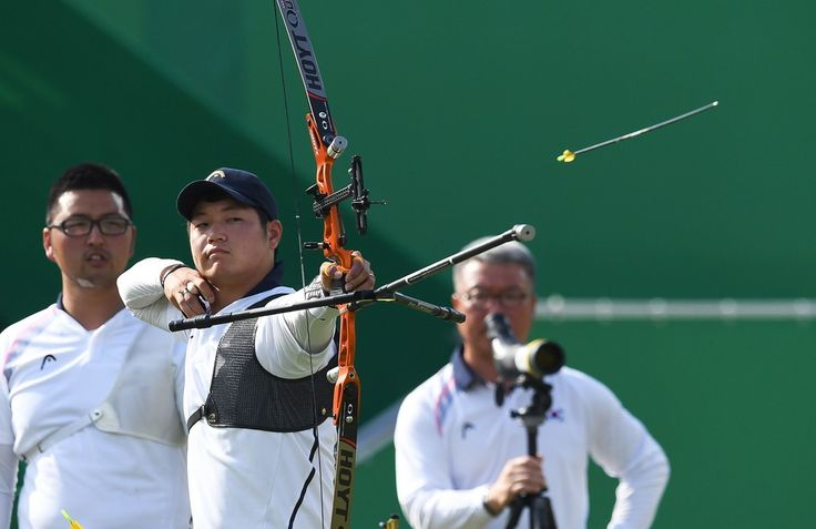 Day 1: Archery Men's Team - Seungyun Lee of Korea