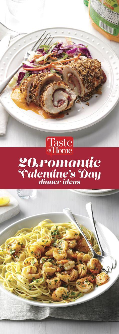 20 Romantic Valentine's Day Dinner Ideas