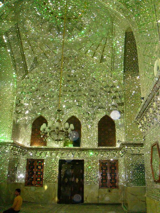 """Shah Cheragh is amonument and mosque that isthe most important place of pilgrimage within the city of Shiraz, Iran. The nameShah Cheraghtranslates into """"King of the Light"""" or """"Shrine of the lord of the light"""". It contains tombs of important…"""