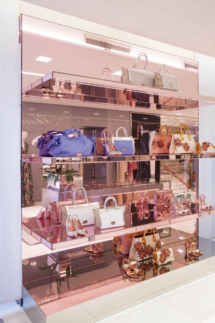 Blumarine Milan Boutique Windows - June 2015