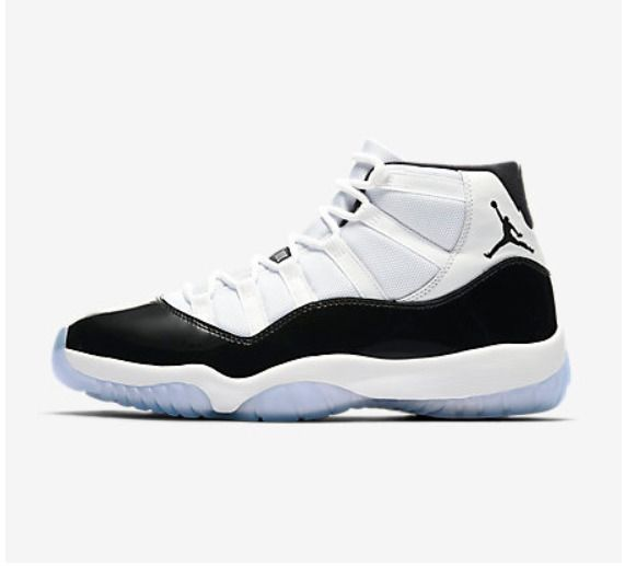 Nike Air Jordan 11 Retro White Concord Size 12 US Mens Basketball High Top  Shoes  Nike  BasketballShoes baa9a7e07546