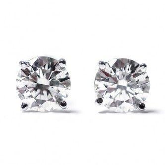 Diamantohrstecker mit 0.25 Karat Diamanten in der Reinheit SI2 und der Farbe G-H. Diese Diamantohrstecker sind für nur 399.00 Euro bei www.juwelierhausabt.de erhältlich.