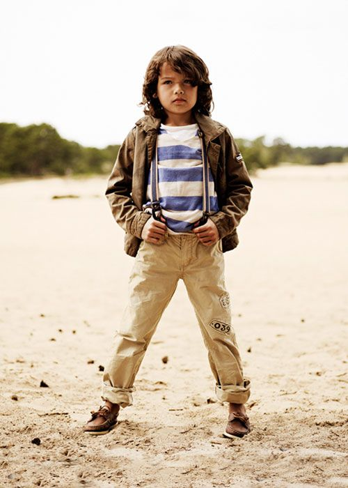 Scotch & Soda Collection - Neutrals and stripes