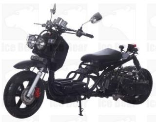 IceBear Maddog 50cc Gas Street Legal Scooter on sale now at http://www.ScooterMadness.com #ruckus #schmuckus
