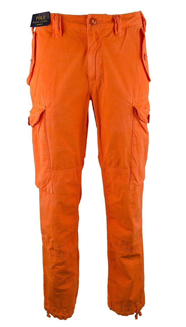 Amazon.co.jp: RALPH LAUREN PANTS メンズ US サイズ: 34W X 30L カラー: オレンジ: 服&ファッション小物