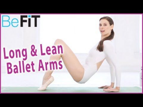 Ballet Beautiful: Long & Lean Arms Workout- Mary Helen Bowers - YouTube