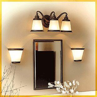 bathroom Light Fixtures Over Mirror | Where To Fix Bathroom Wall Lighting  Fixtures?