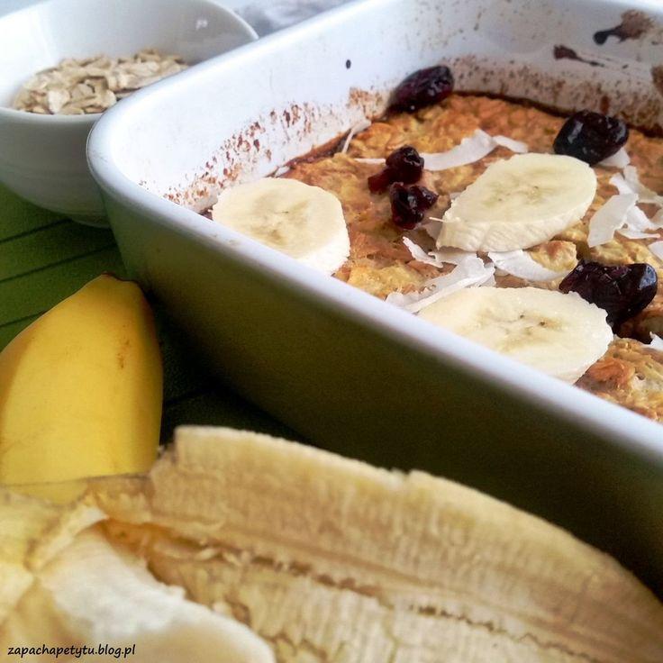 Baked oatmeal  #zapachapetytu #oatmeal #porridge