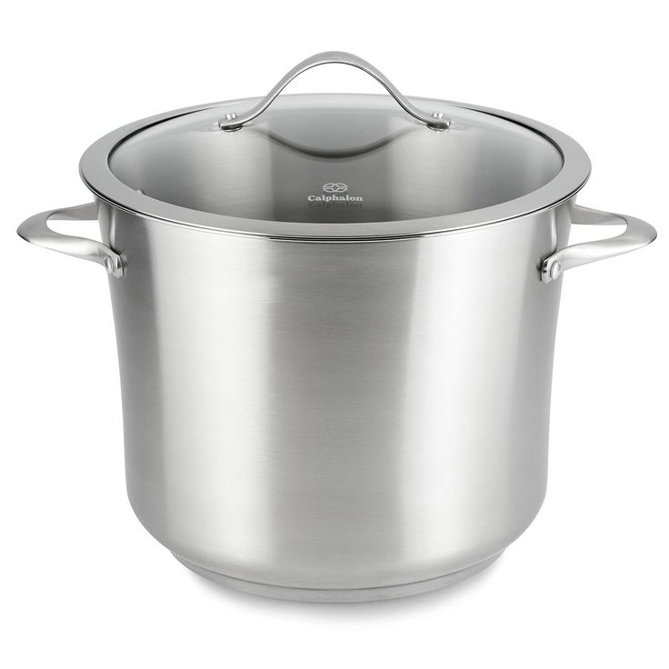 Calphalon Contemporary Stainless Steel 12 Quart Stockpot ** Details can be found by clicking on the image.